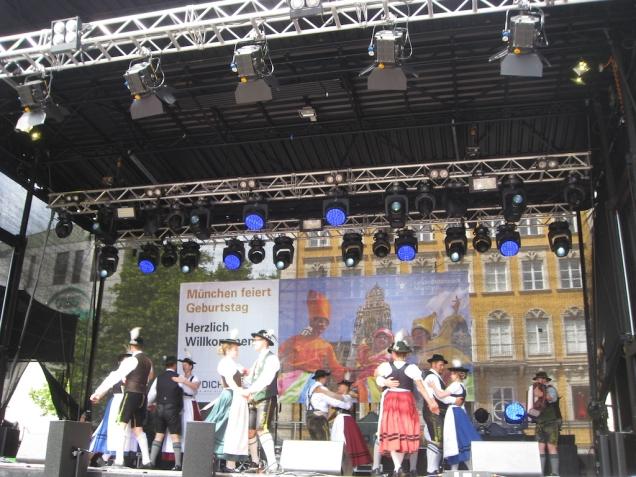 Stadtgründungfest in Munich