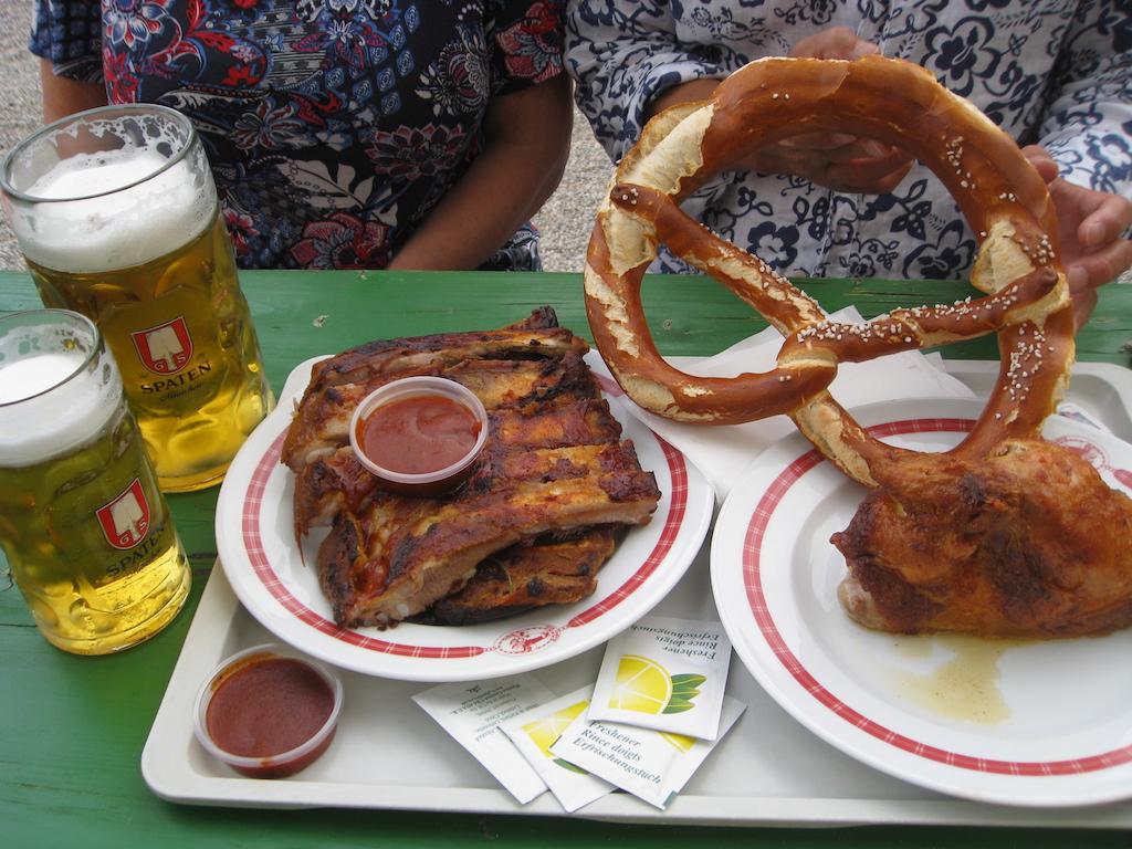 Beer Garden food