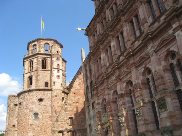 The Bell Tower at Heidelberg Castle