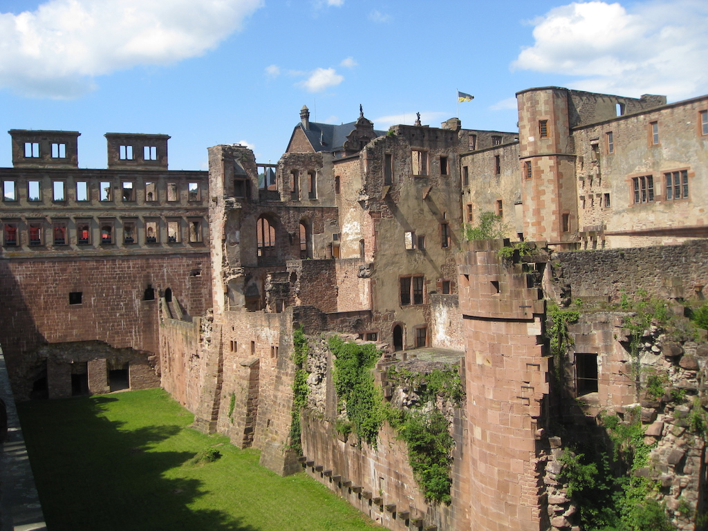 English Building at Heidelberg Castle
