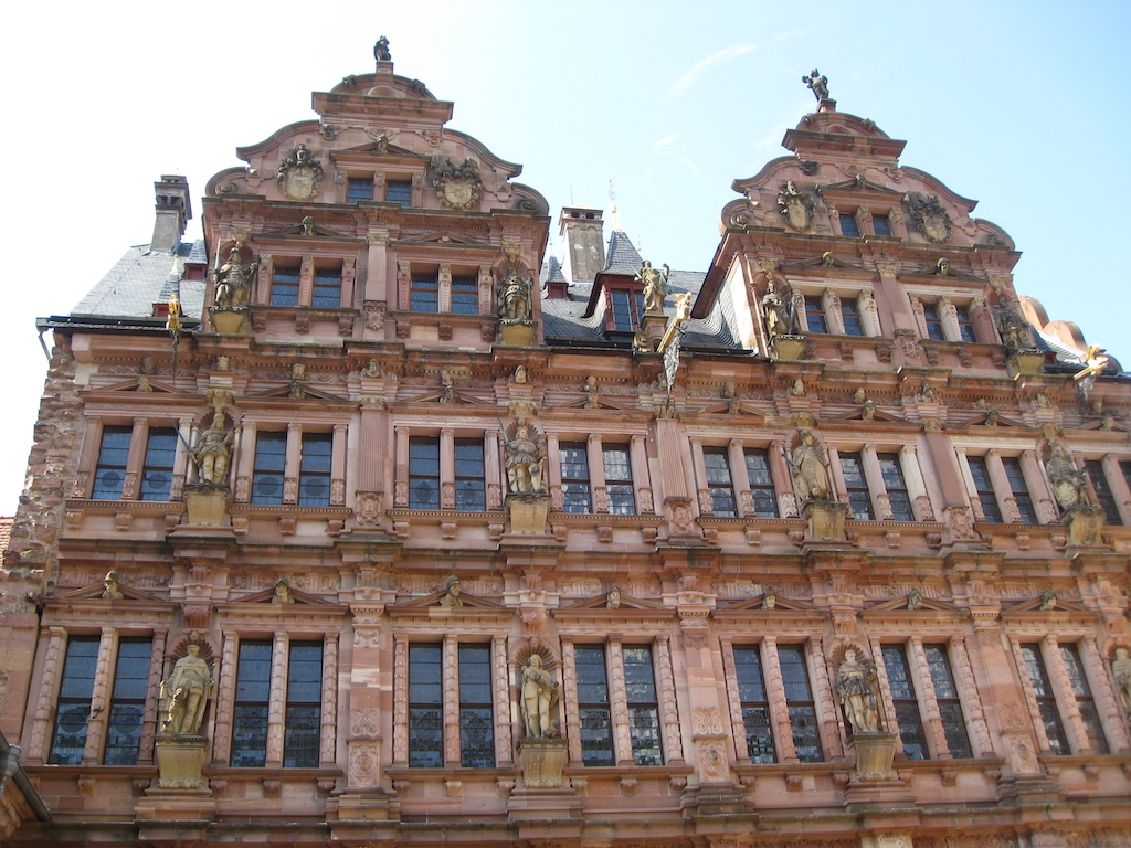 Friedrich Building at Heidelberg Castle