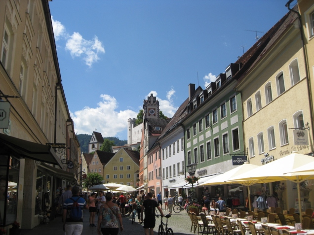 Füssen Town Centre