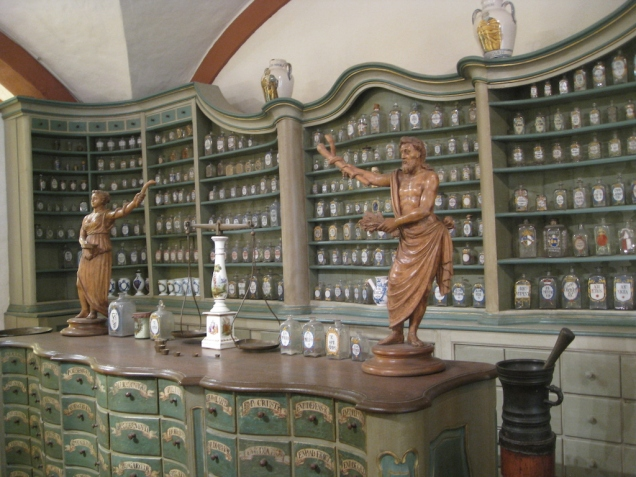 Apothecary Museum at Heidelberg Castle