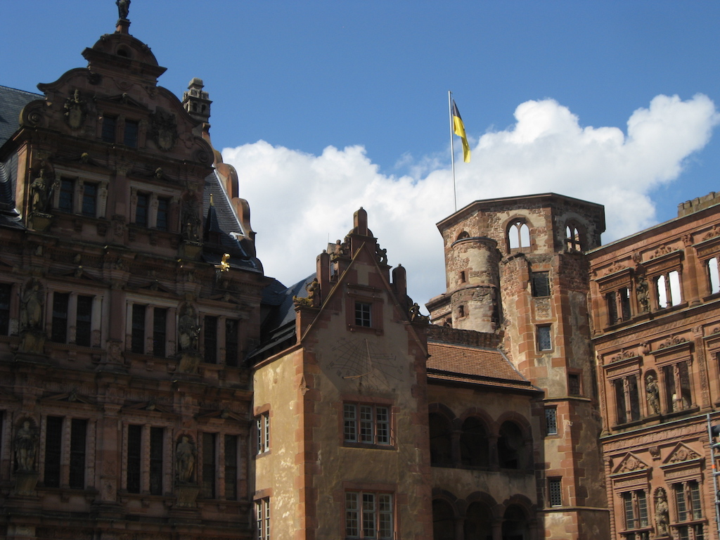 The House of Glass at Heidelberg Castle