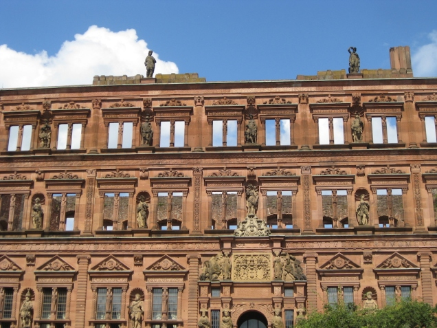 Ottheinrich Building at Heidelberg Castle