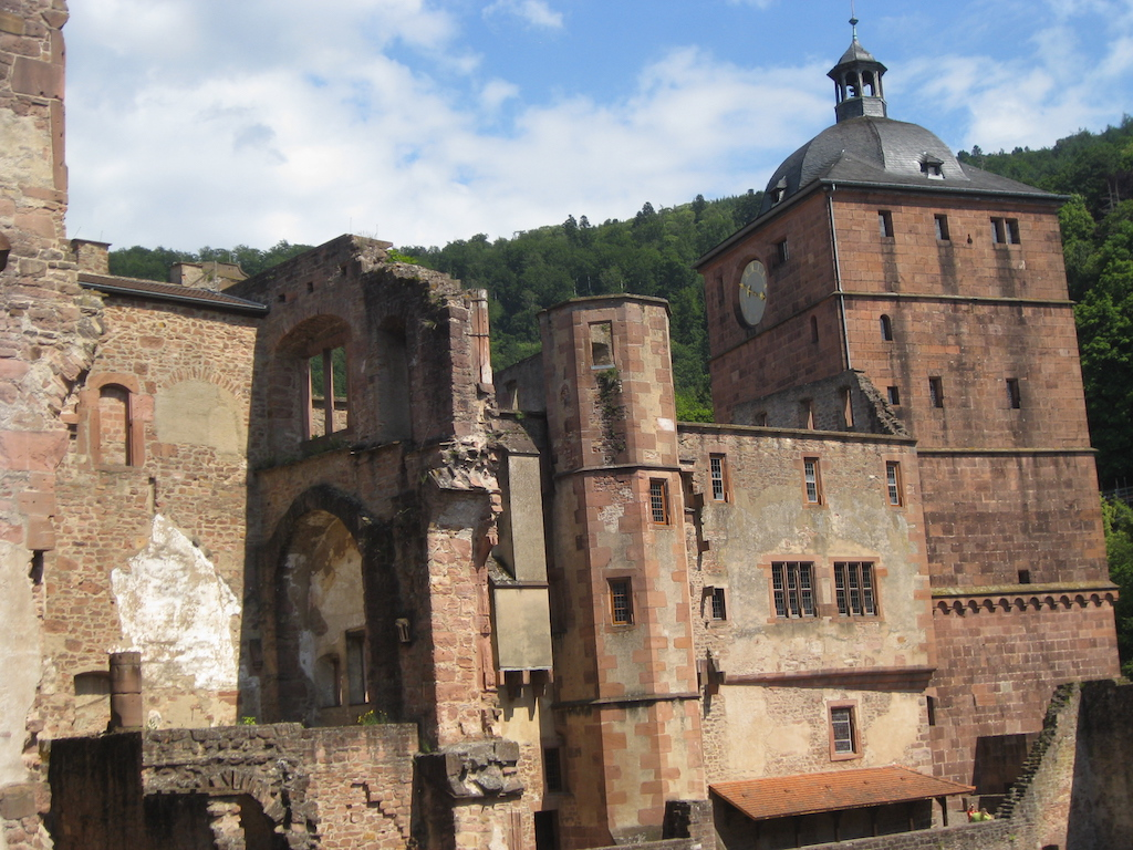 Rupretch Buidling at Heidelberg Castle