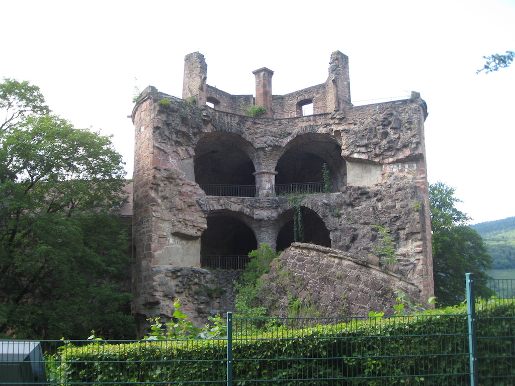 The Powder Tower at Heidelberg Castle