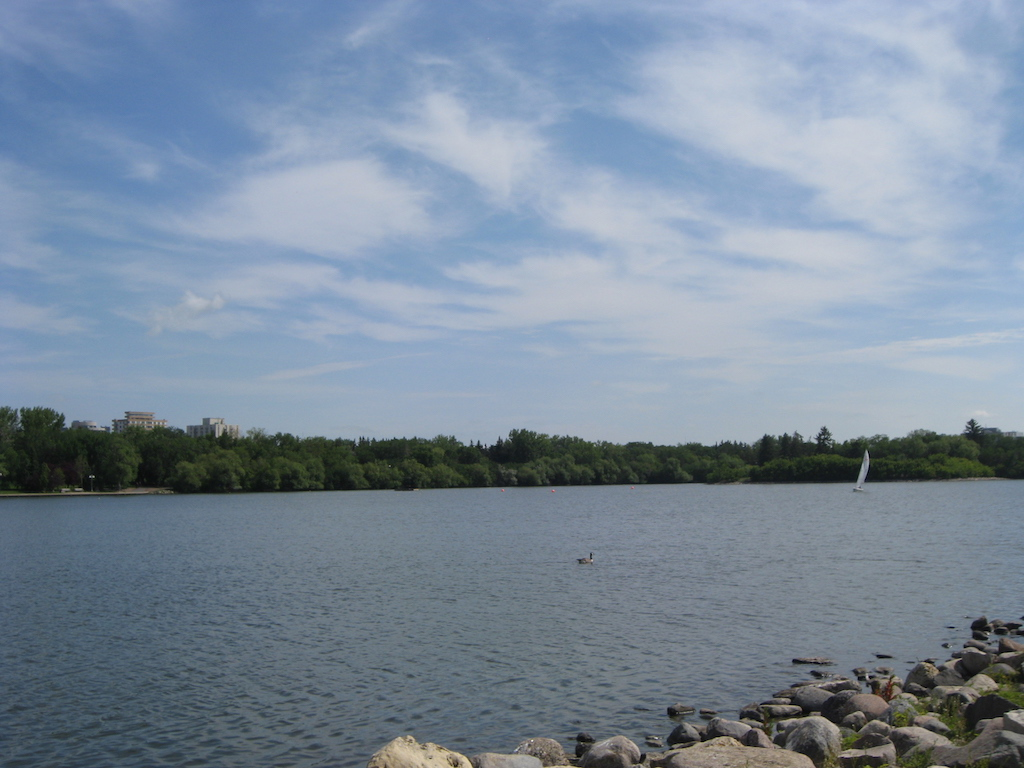 Wascana Lake and Wascana Park