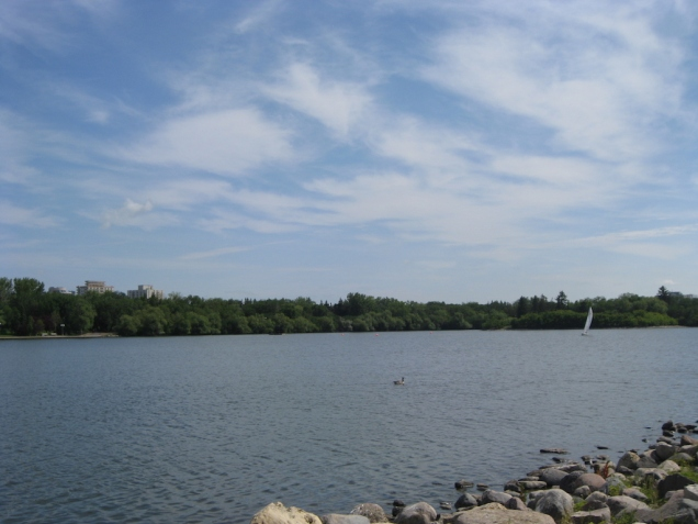 Wascana Lake in Regina