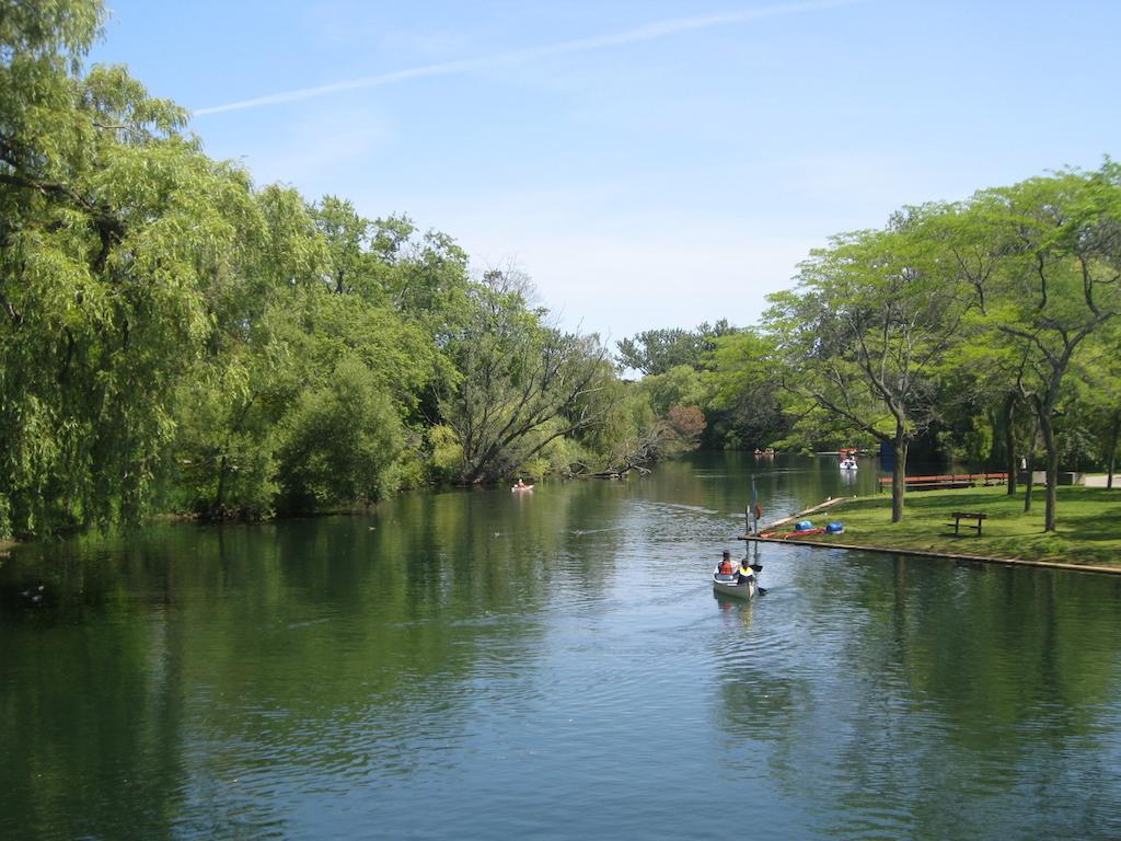 Canoe on Centre Island
