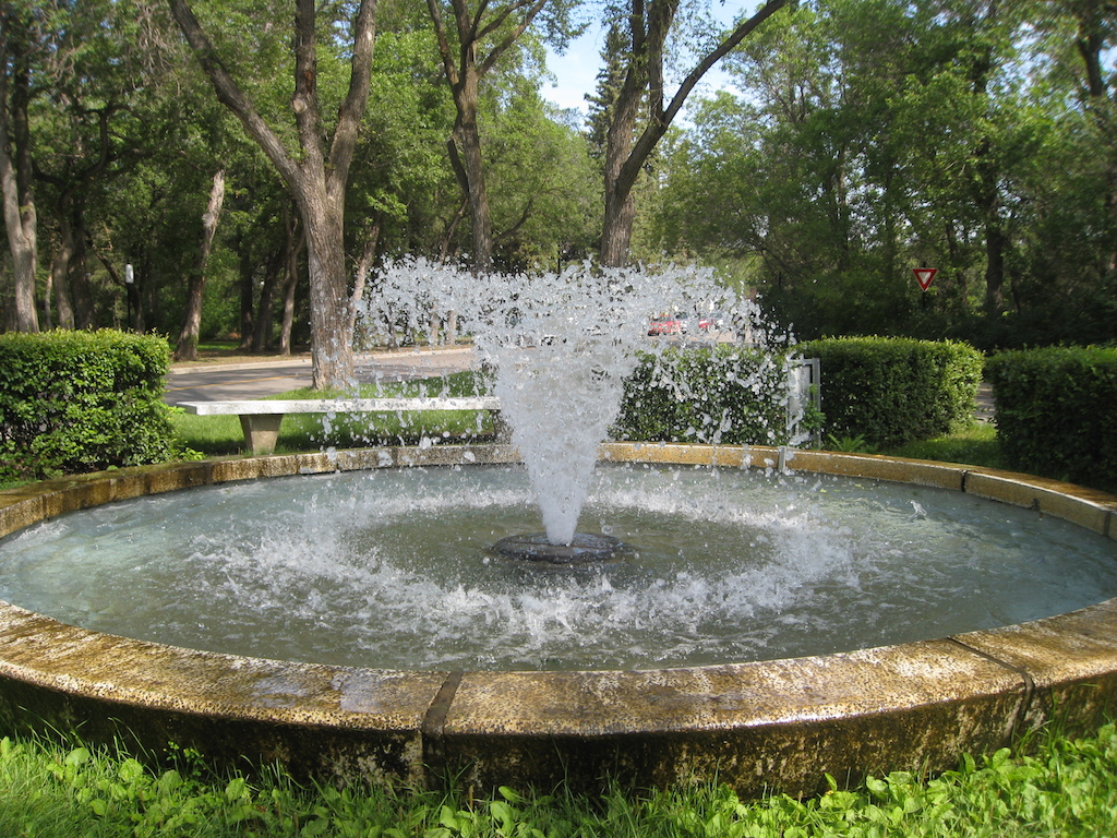Fountain at Wascana Centre