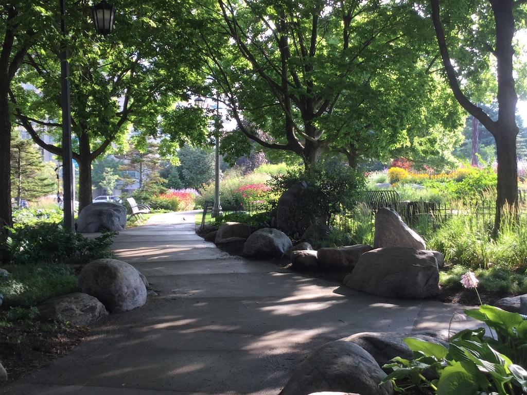 Prelude in Toronto Music Garden