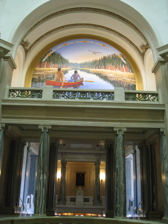 Saskatchewan Legislative Building rotunda