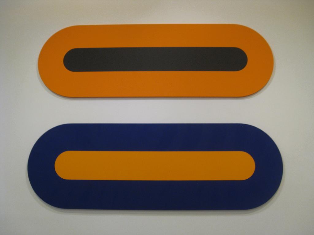 Horizontal Ultra Orange by Claude Tousignant