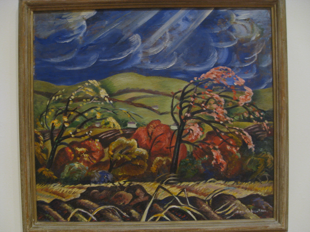 October, Ottawa Valley painting by Sarah Robertson