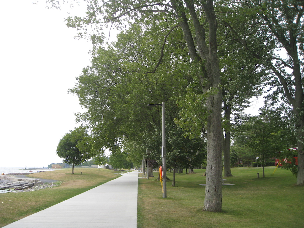 Kingston's waterfront pathway