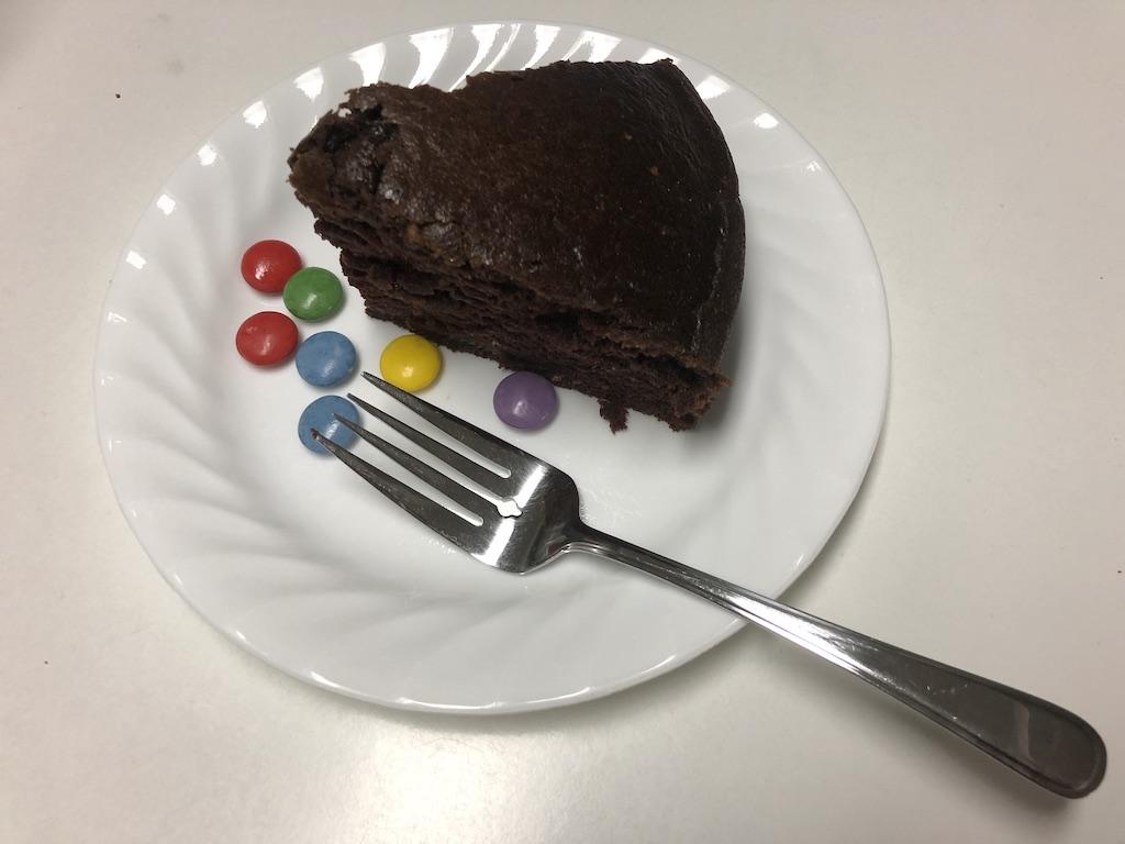 A slice of Ration cake
