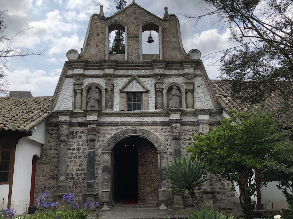 The old chapel at Hacienda La Cienega
