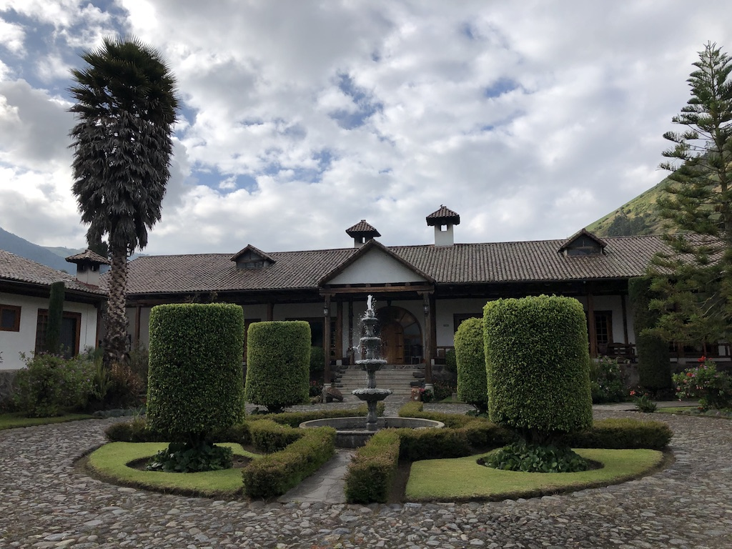 Hacienda Leito entrance