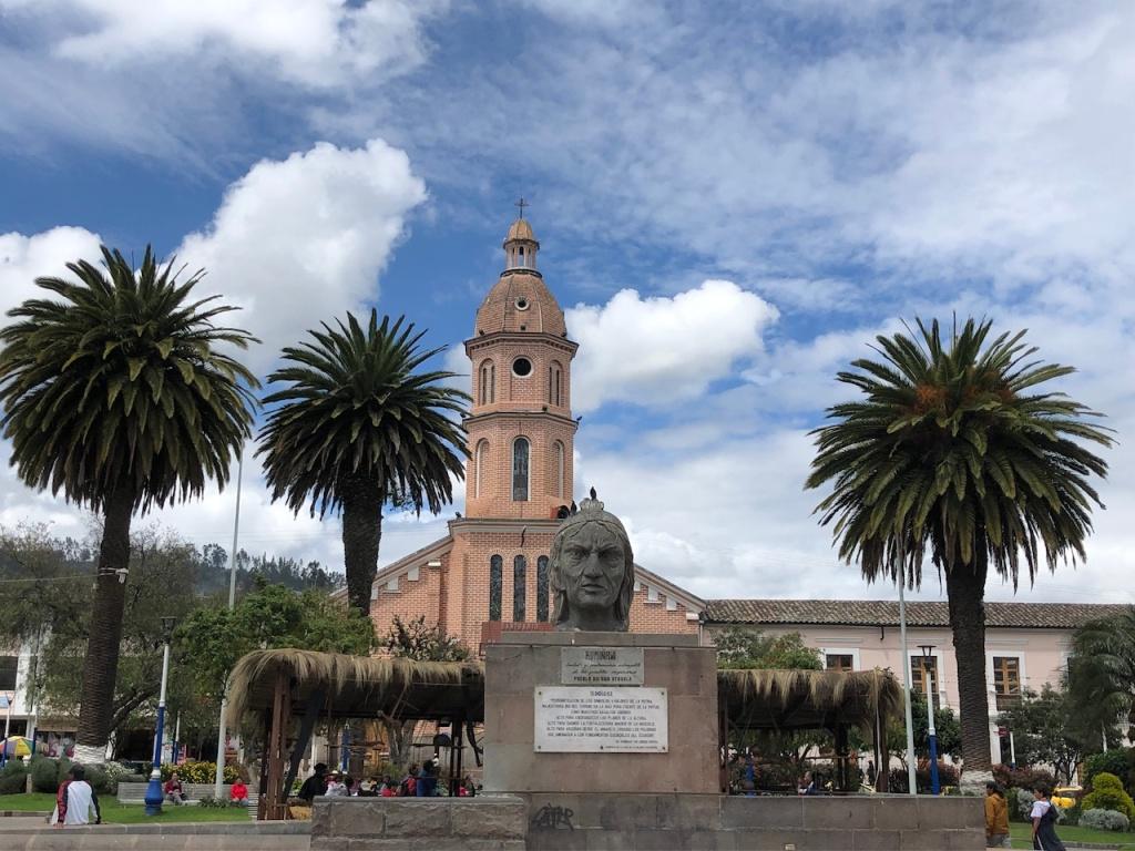 Otavalo main square