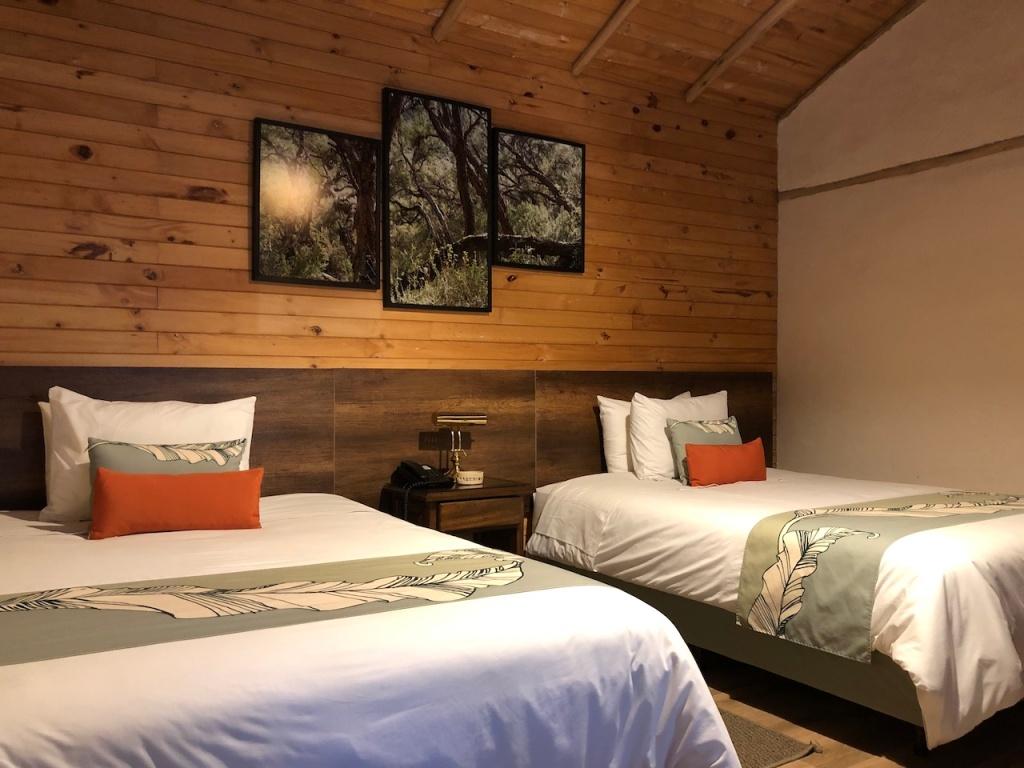 Papallacta hotel room