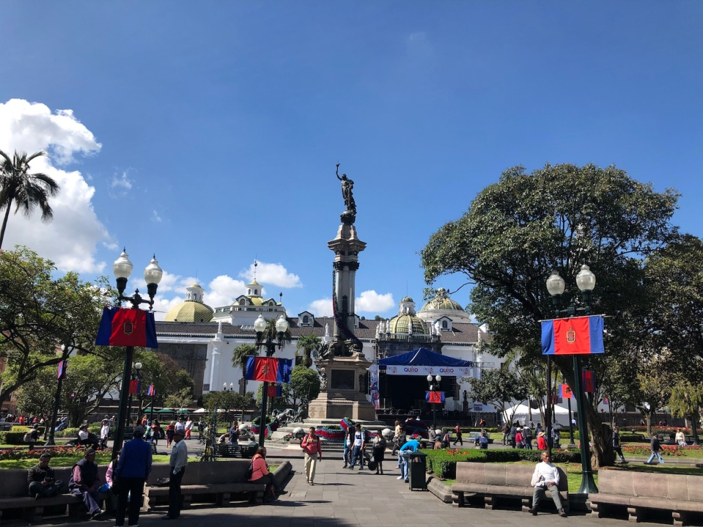 Independence Plaza in Quito