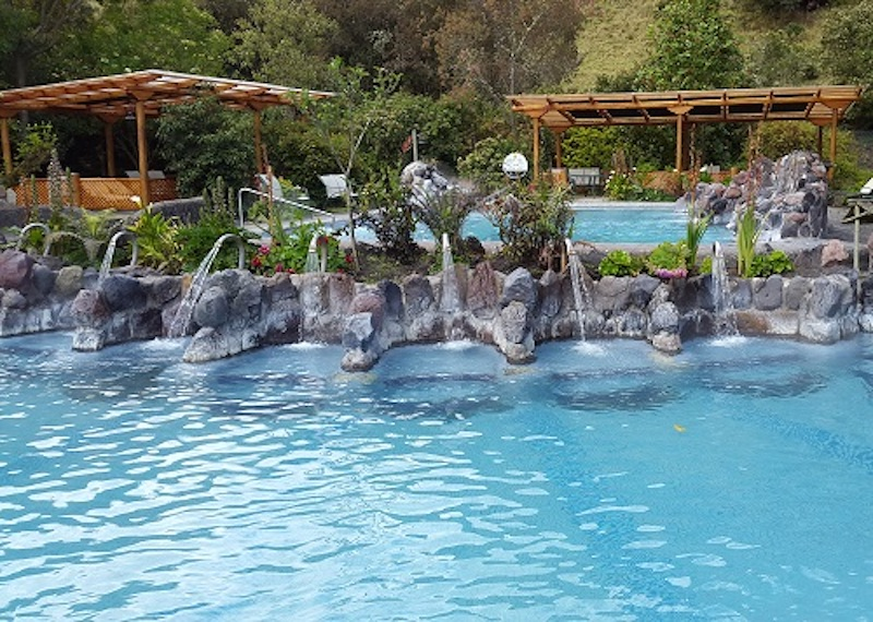 Papallacta spa pools