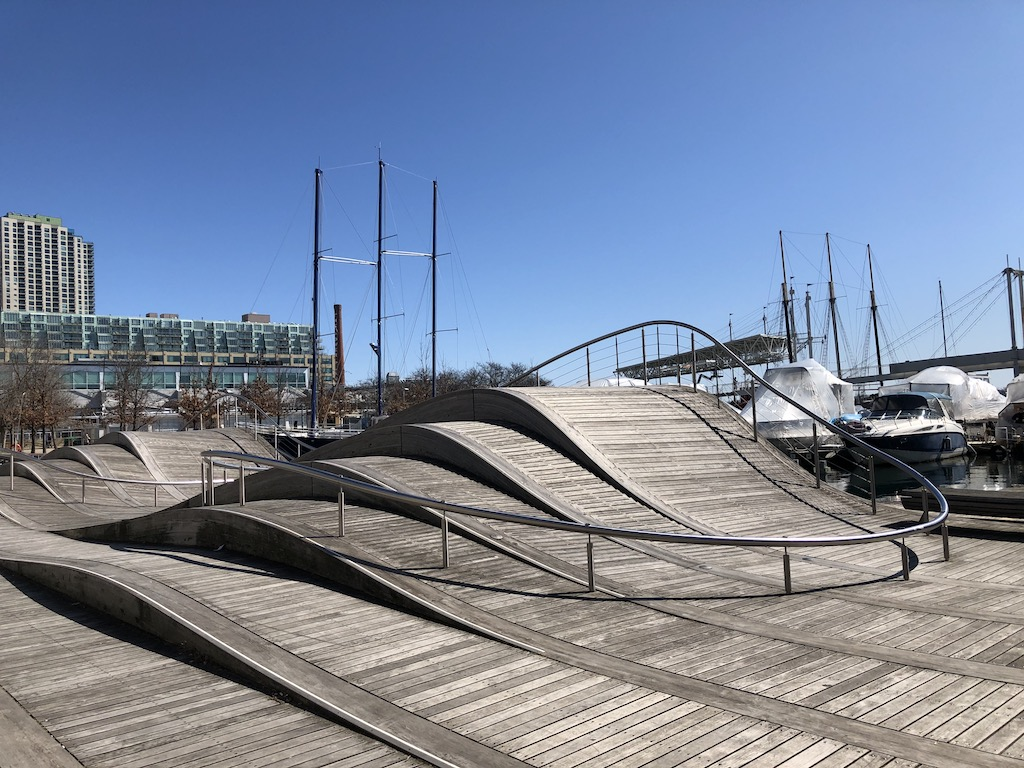 Street view of Simcoe WaveDeck