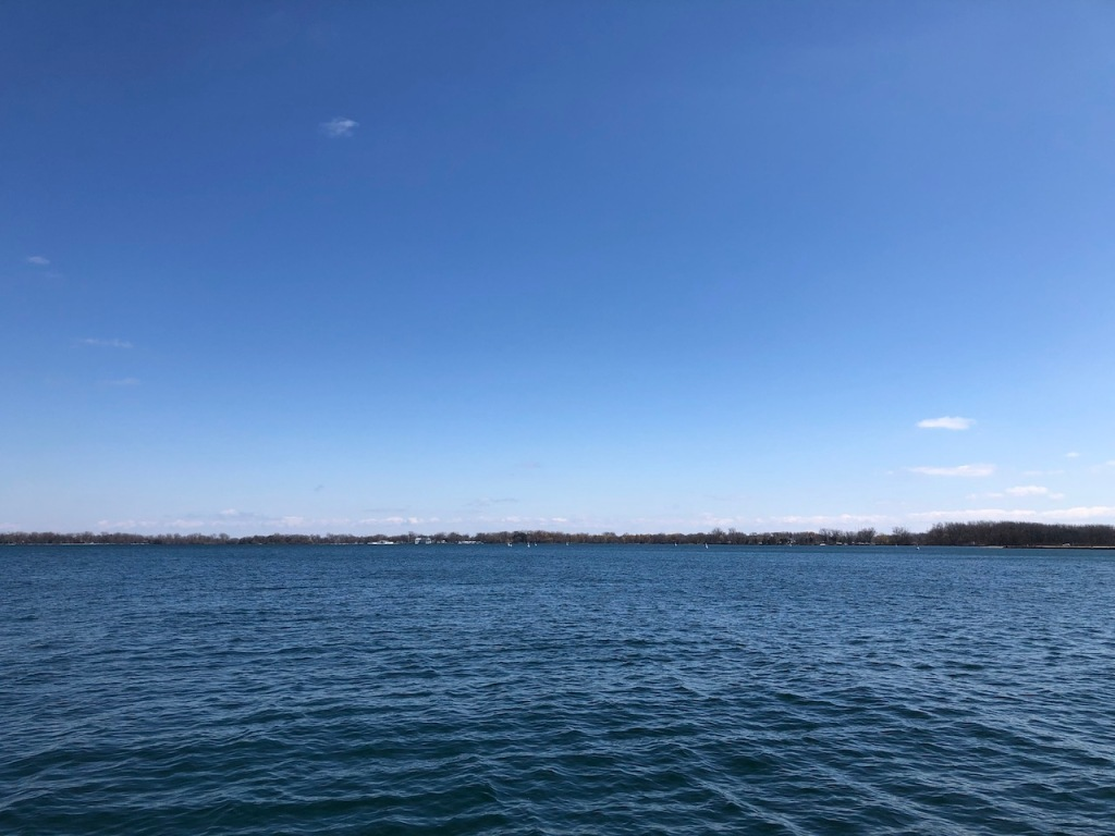 Lake view on a sunny day
