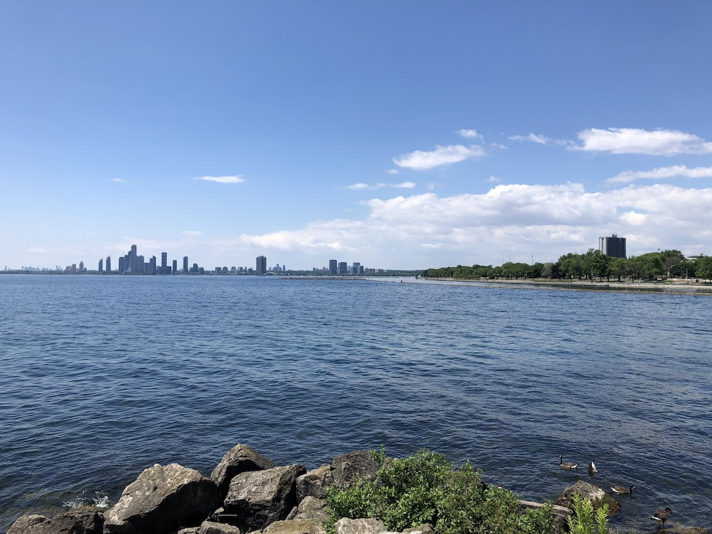 View towards Humber Bay