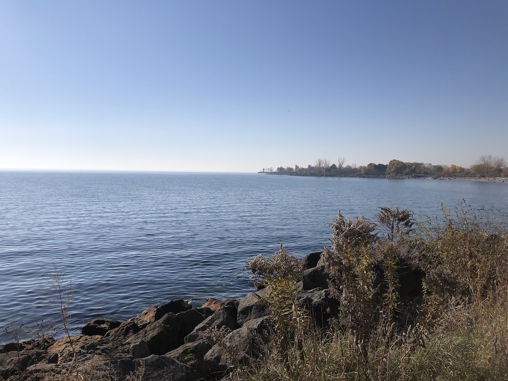 Looking west from Humber Bay Park East
