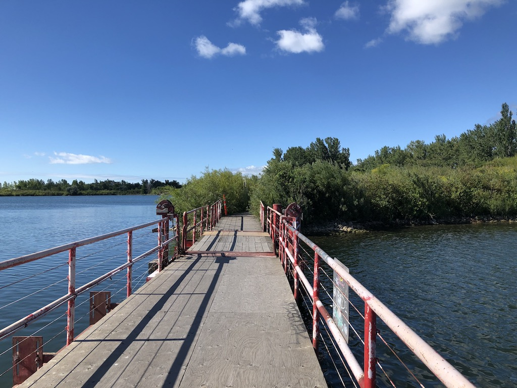 Pedestrian Bridge at Tommy Thompson Park