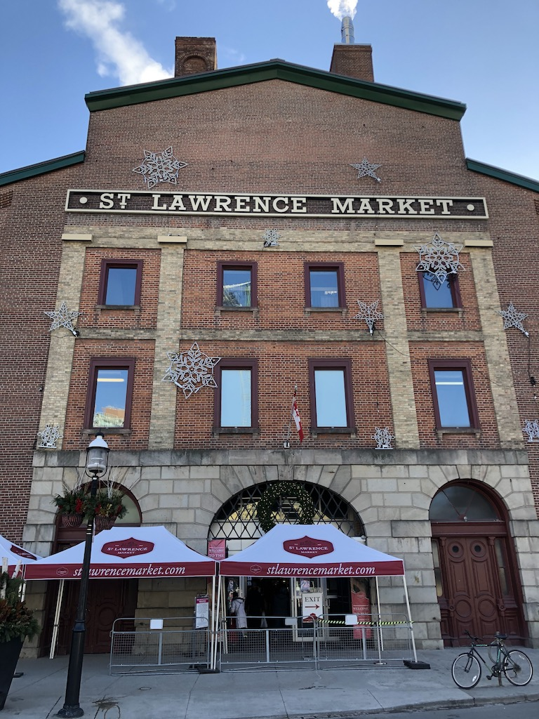 St. Lawrence Market, Toronto, Canada since 1803.