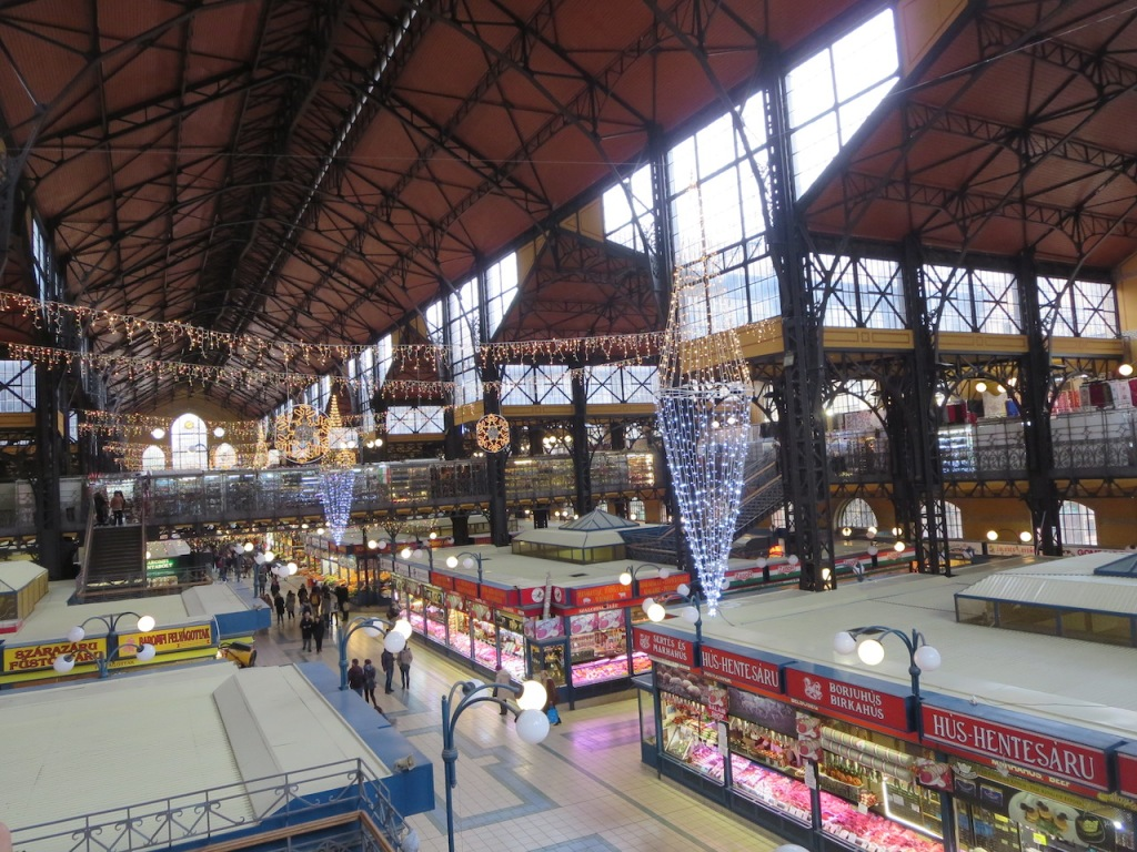 Inside the Great Market Hall.
