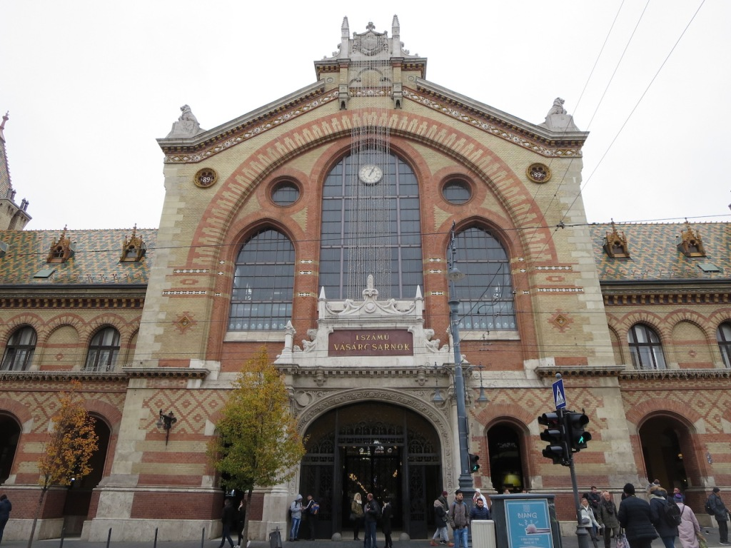Great Market Hall, Budapest, Hungary since 1897.