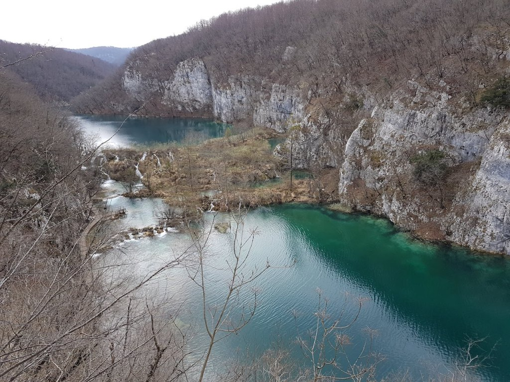 Plitvice Lakes National Park in Croatia.