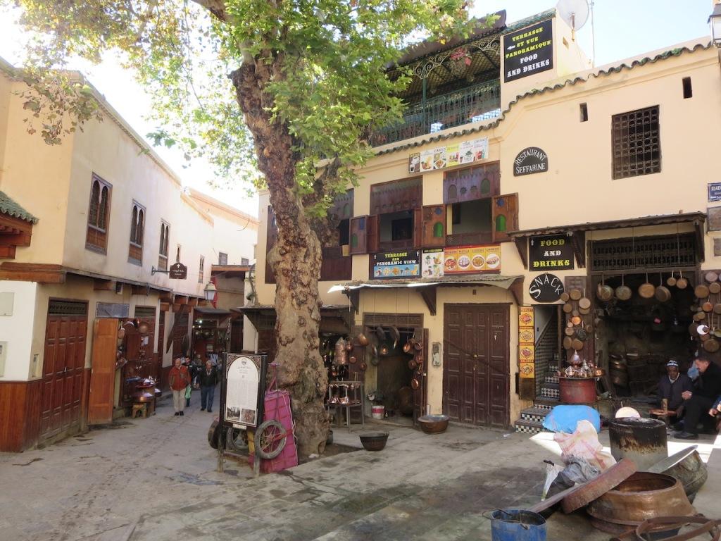 Place Seffarine, Fez, Morocco.