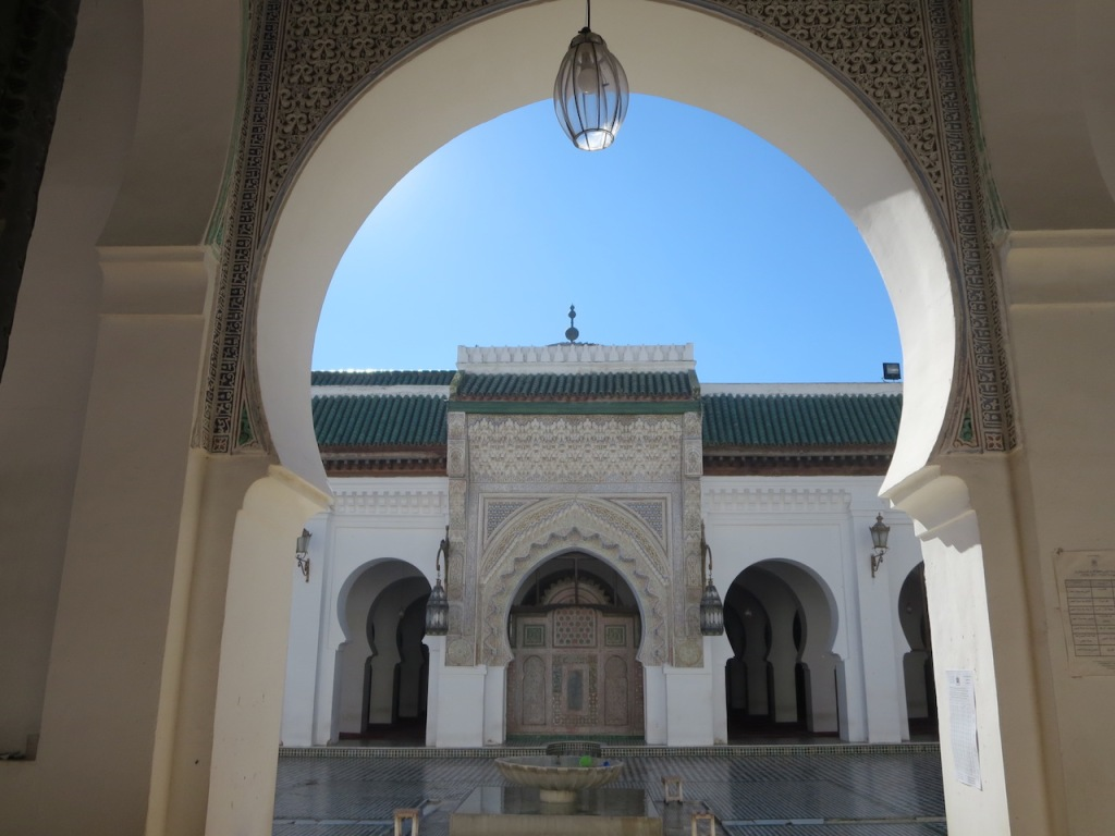 Al Qaraouiyine Mosque and University, Fez, Morocco.