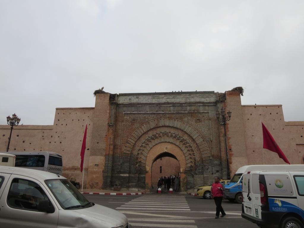 Bab Agnaou Gate in Marrakesh.