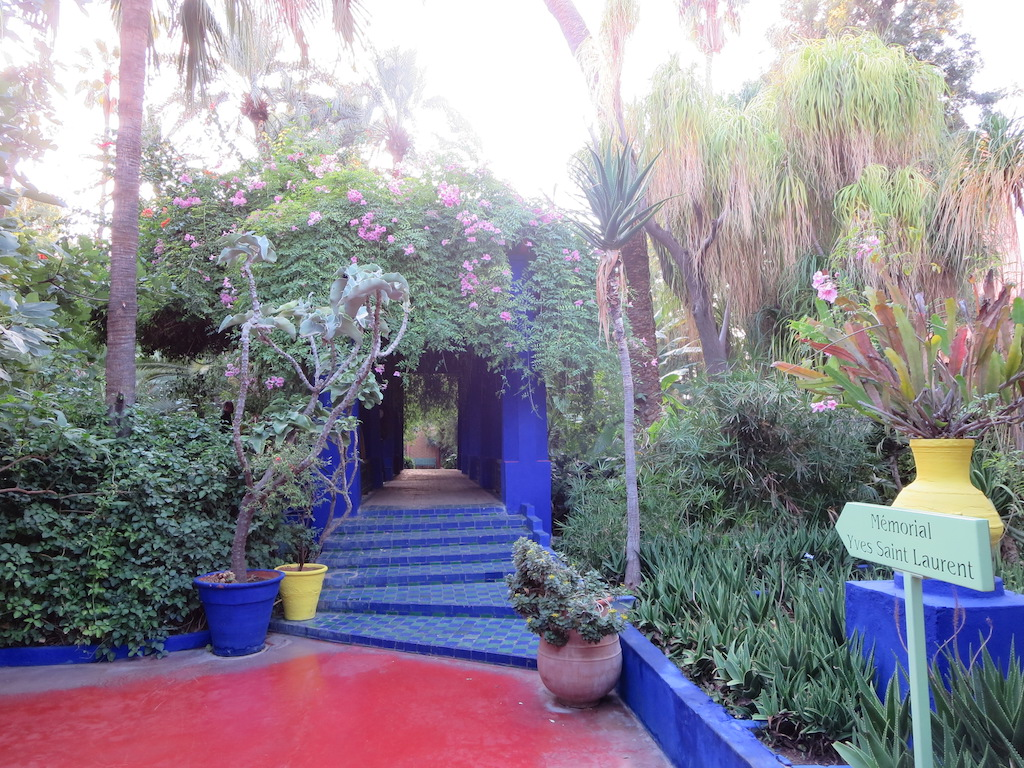 Jardin Majorelle in Marrakesh.