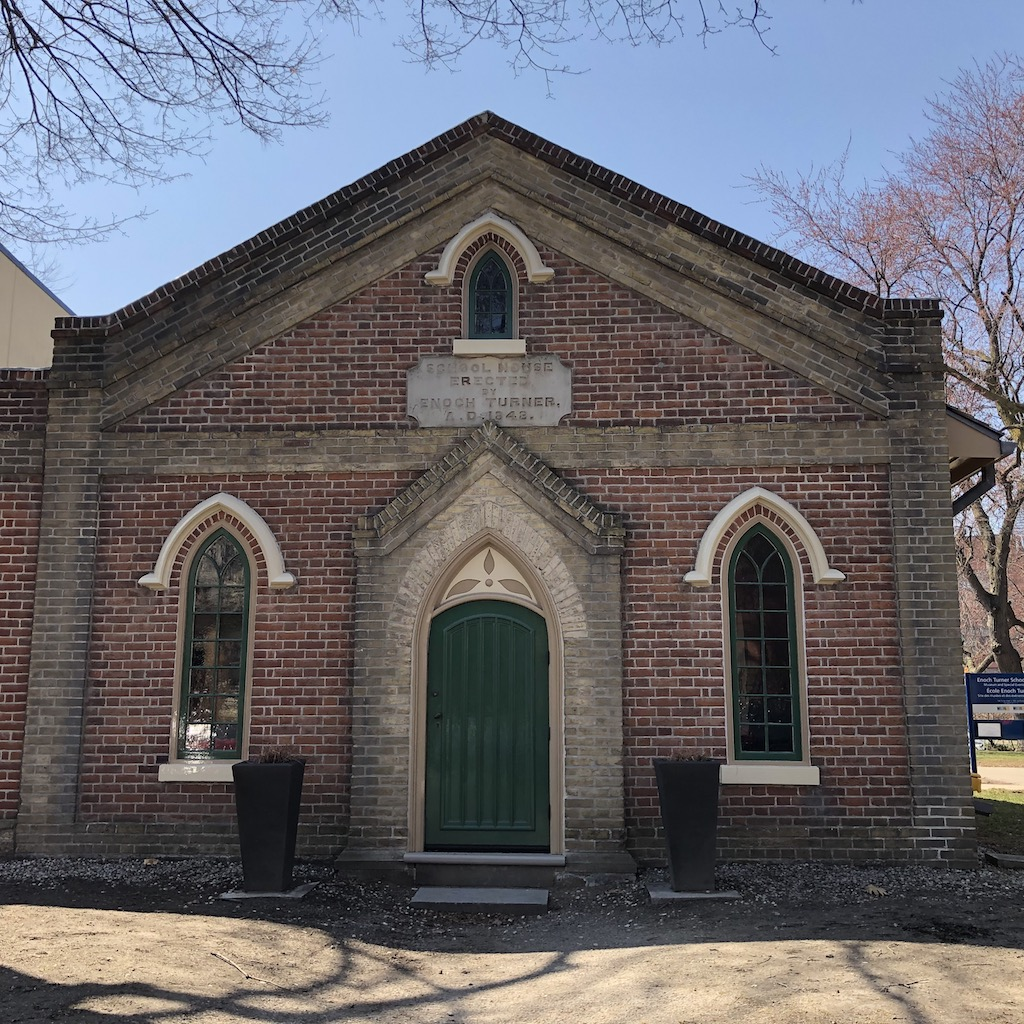 Enoch Turner Schoolhouse, 1848.