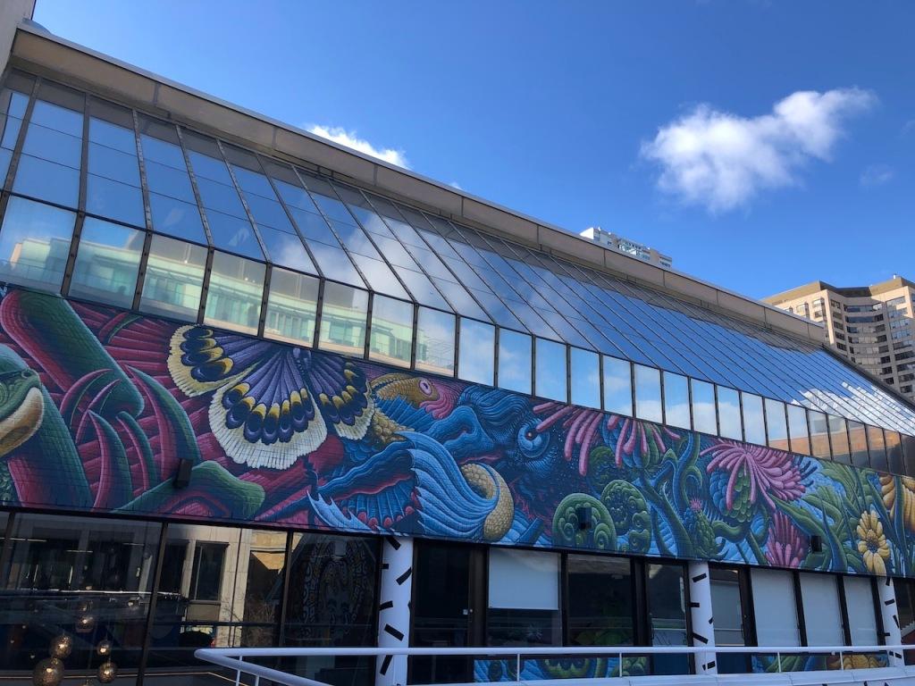 Yorkville mural by Jason Botkin
