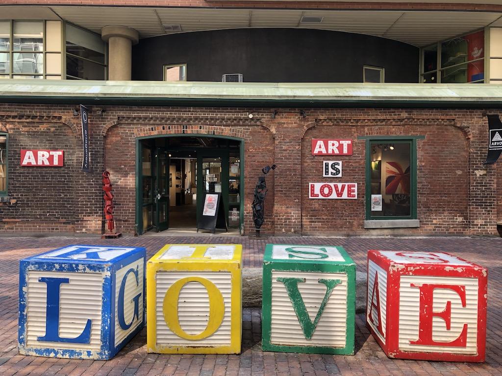 Art store.