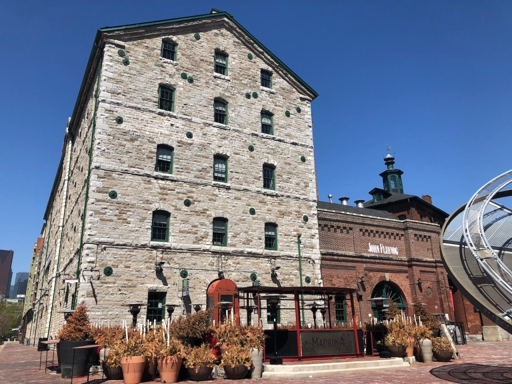 The Stone Distillery building.