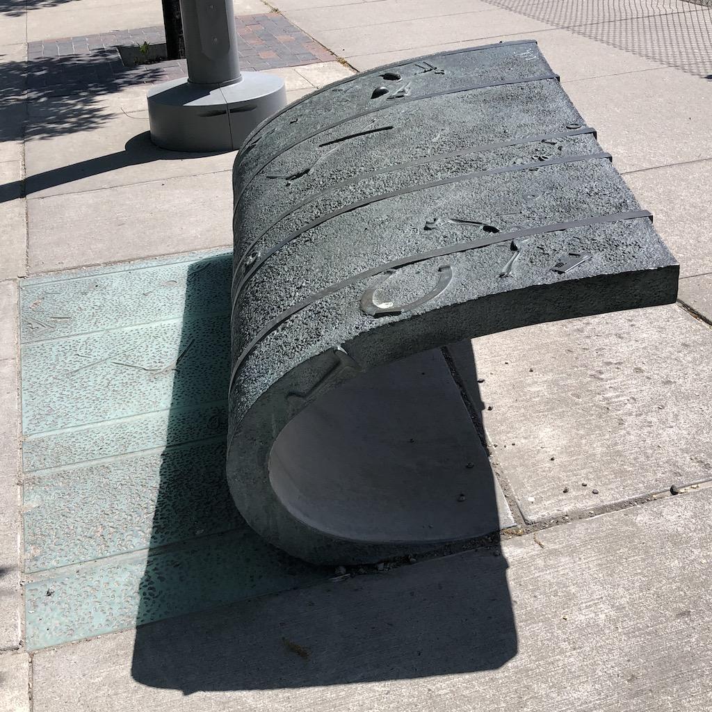 Peeled Pavement.