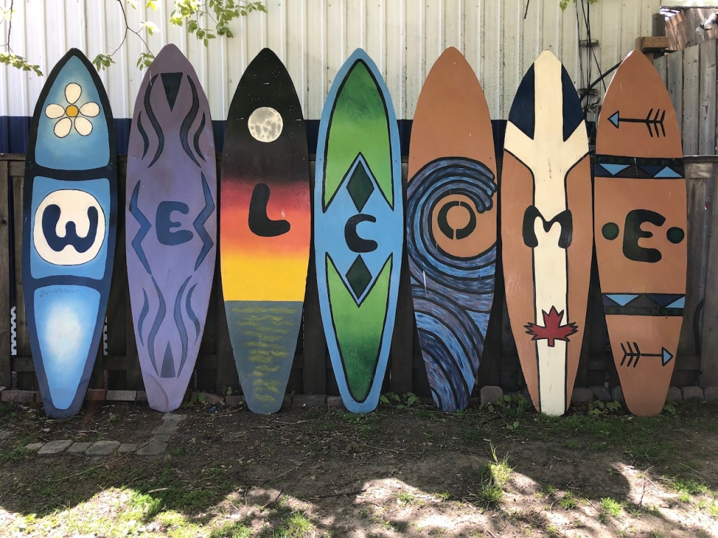 WELCOME surf boards.
