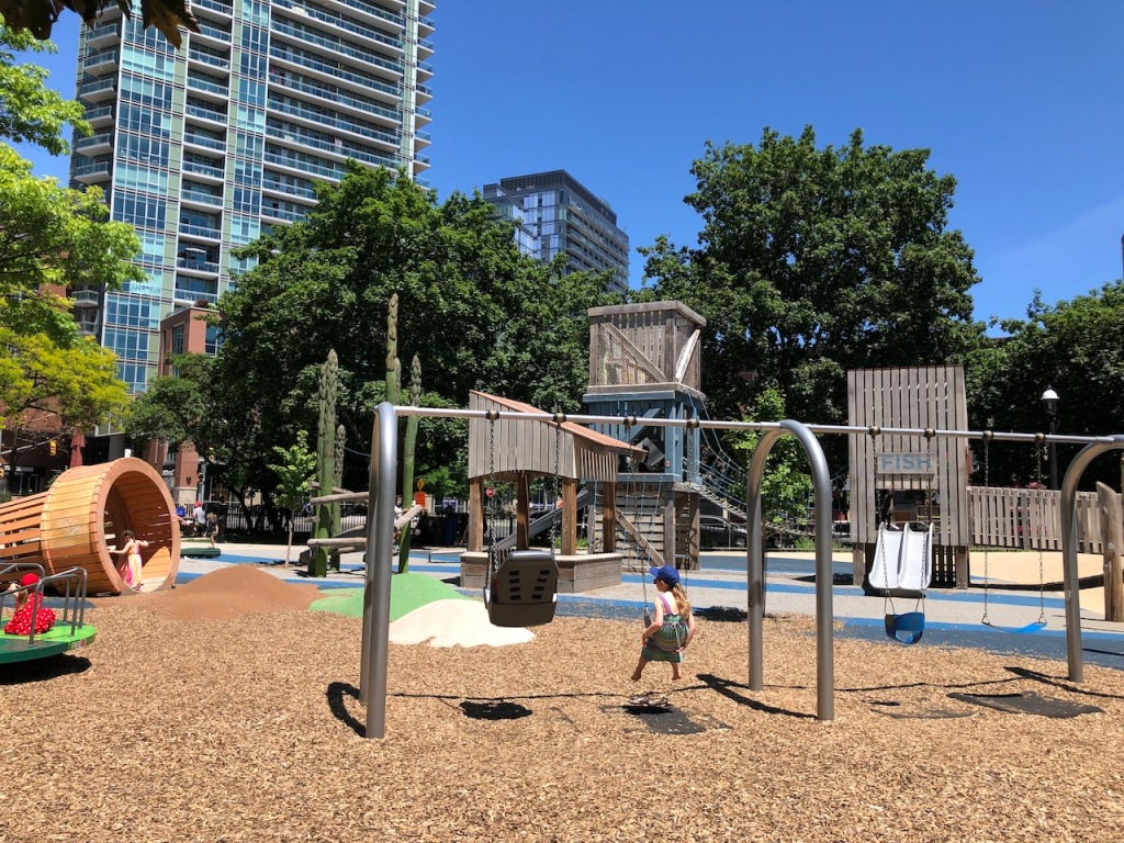 St. James Park playground.