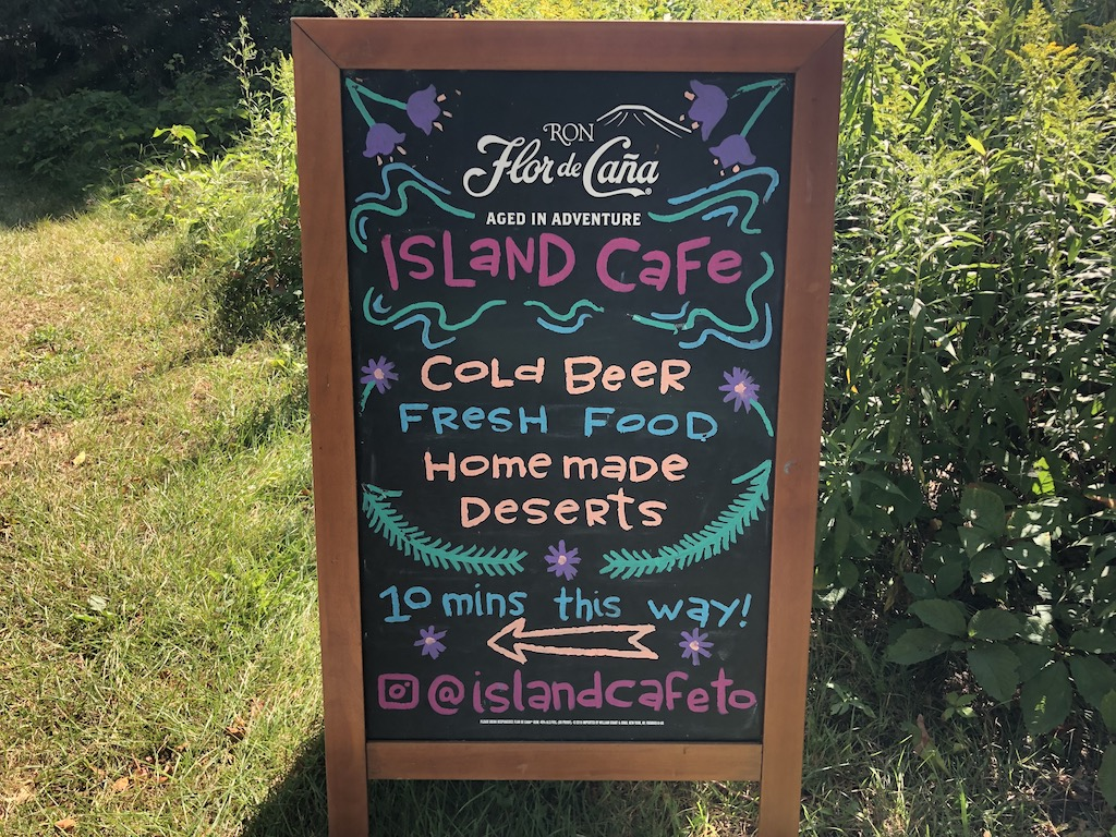 The Island Café.