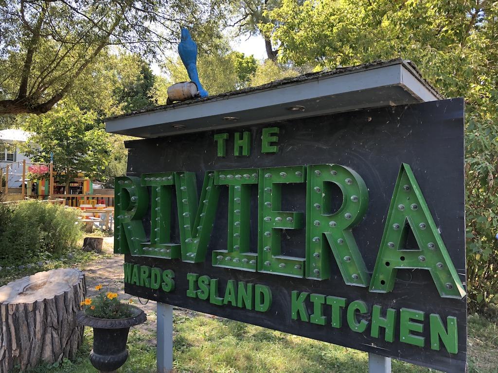 The Riviera Ward's Island Kitchen.