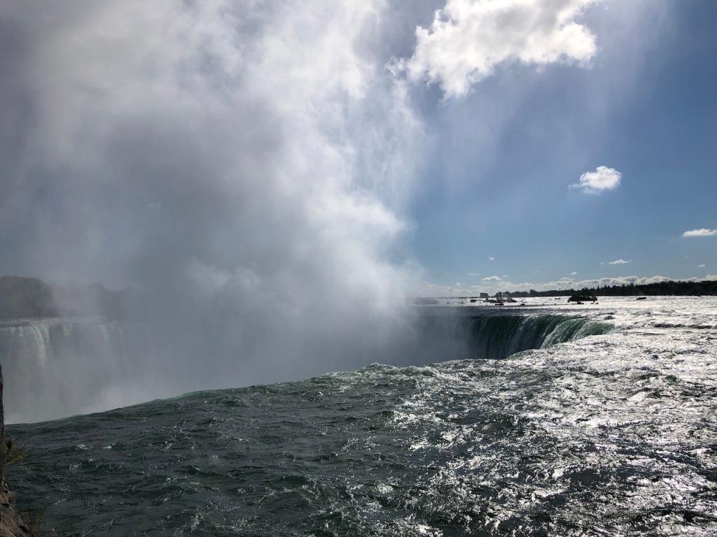 The Niagara River.